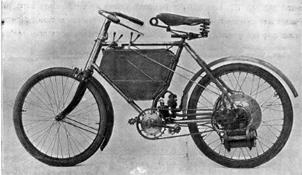1898年には三輪自動車を発売