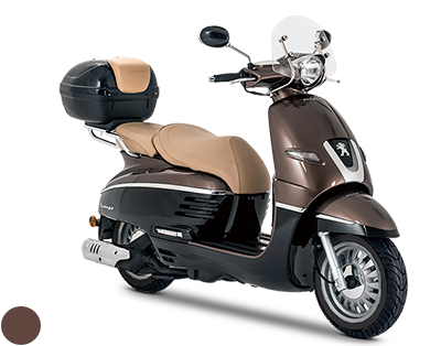 DJANGOシリーズ125ccのALLURE ABS