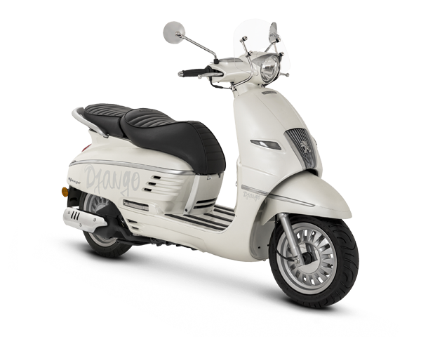 DJANGO 125 ABS DX ポーラーホワイト