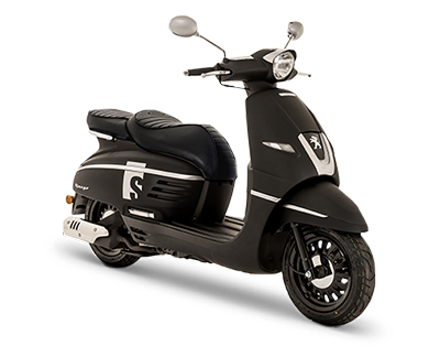 DJANGOシリーズ125ccのSのマットブラックカラー