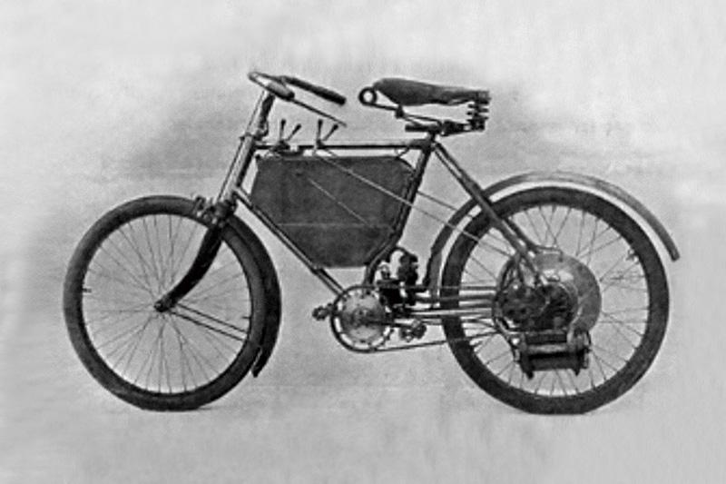 最初のバイク
